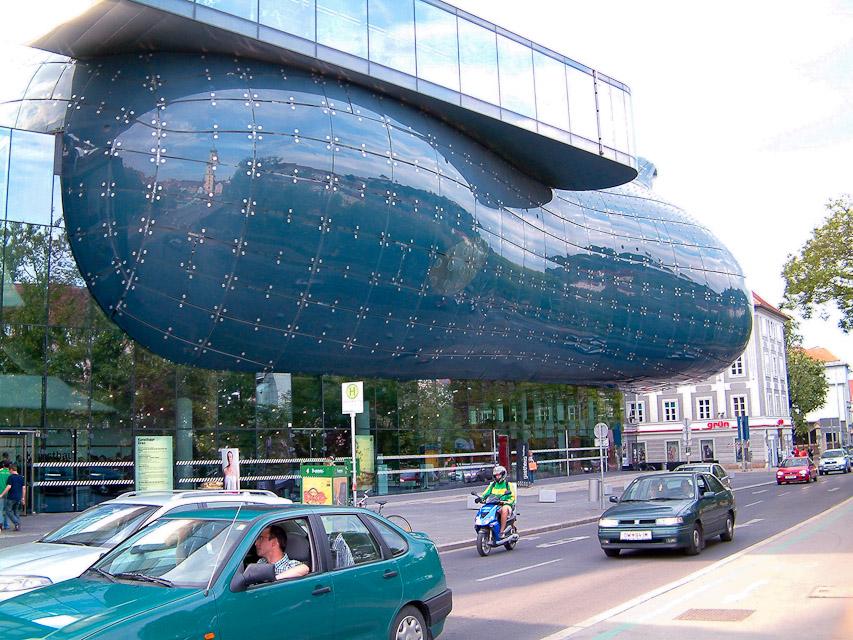 Museum Graz or Graz Art Museum Was